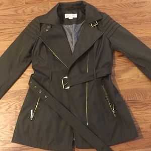 XS Michael Kors belted trench coat